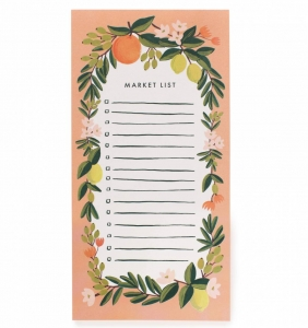 [Rifle Paper Co.] Citrus Floral Coral Market Pad