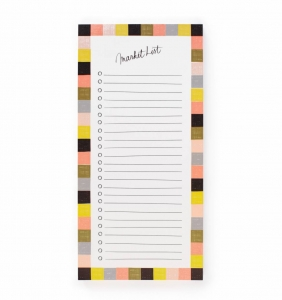 [Rifle Paper Co.] Checkered Market Pad by Garance Doré.