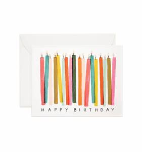 [Rifle Paper Co.] Birthday Candles Card