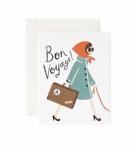 [Rifle Paper Co.] Bon Voyage Card