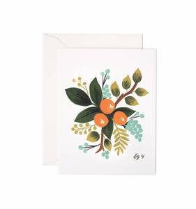 [Rifle Paper Co.] Clementine Floral Card