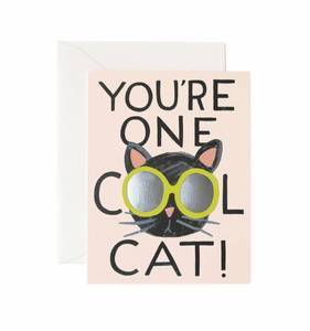 [Rifle Paper Co.] Cool Cat Card