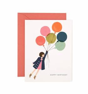 [Rifle Paper Co.] Fly Away Birthday Card