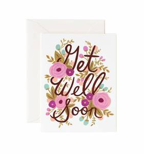 [Rifle Paper Co.] Get Well Soon Card