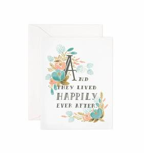 [Rifle Paper Co.] Happily Ever After Card