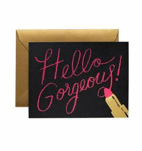 [Rifle Paper Co.] Hello Gorgeous Card