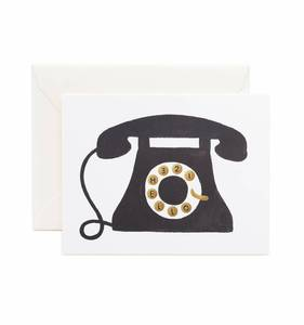 [Rifle Paper Co.] Hello! Telephone Card