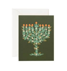 [Rifle Paper Co.] Illustrated Menorah Card