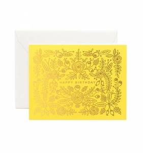 [Rifle Paper Co.] Limoncello Birthday Card