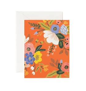 [Rifle Paper Co.] Lively Floral Red Card
