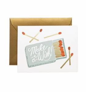 [Rifle Paper Co.] Make a Wish Birthday Card