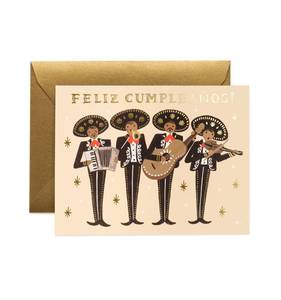 [Rifle Paper Co.] Mariachi Birthday Card