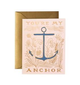 [Rifle Paper Co.] My Anchor Card