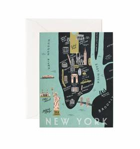 [Rifle Paper Co.] New York Map Card
