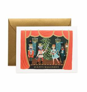 [Rifle Paper Co.] Nutcracker Scene Card