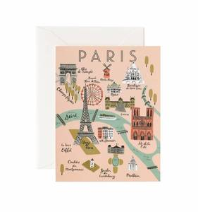 [Rifle Paper Co.] Paris Map Card