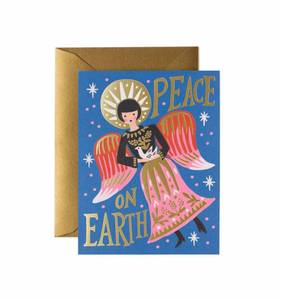 [Rifle Paper Co.] Peace on Earth Angel Card