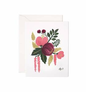 [Rifle Paper Co.] Raspberry Floral Card