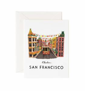 [Rifle Paper Co.] San Francisco Card