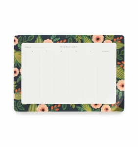 [Rifle Paper Co.] Jardin Weekly Desk Pad