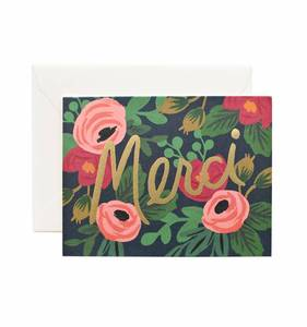 [Rifle Paper Co.] Rosa Merci Card