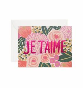 [Rifle Paper Co.] Je t'aime Card