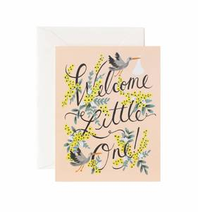 [Rifle Paper Co.] Welcome Little One Card