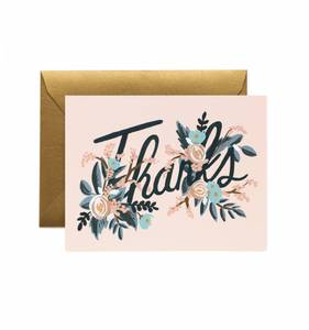 [Rifle Paper Co.] Woodland Thank You Card