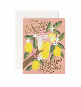 [Rifle Paper Co.] When Life Gives You Lemons Card