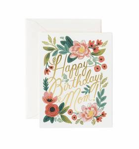[Rifle Paper Co.] Happy Birthday Mom Card