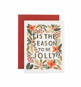 [Rifle Paper Co.] Tis the Season Card