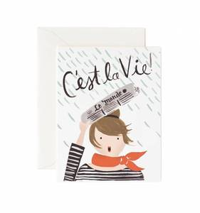 [Rifle Paper Co.] C'est La Vie Card