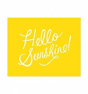 [Rifle Paper Co.] Hello Sunshine 8 x 10