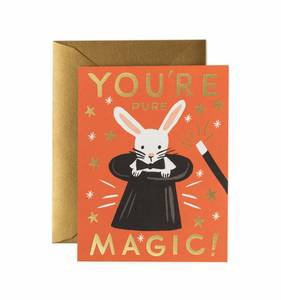 [Rifle Paper Co.] You're Pure Magic Card