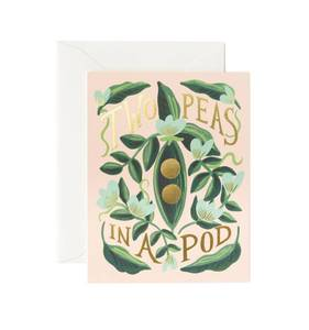 [Rifle Paper Co.] Two Peas In a Pod Card