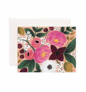 [Rifle Paper Co.] Vintage Blossoms Peach Card