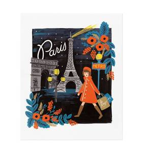 [Rifle Paper Co.] Travel Paris 11 x 14