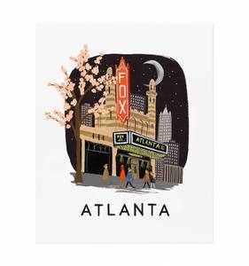 [Rifle Paper Co.] Atlanta 16 x 20""