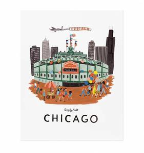[Rifle Paper Co.] Chicago 16 x 20""