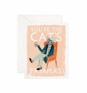 [Rifle Paper Co.] You're The Cats Pajamas Card