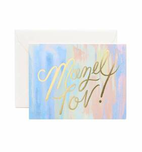 [Rifle Paper Co.] Mazel Tov! Card
