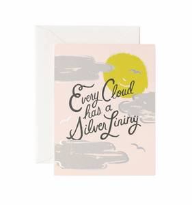 [Rifle Paper Co.] Silver Lining Card