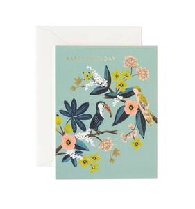 [Rifle Paper Co.] Toucan Birthday Card