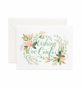 [Rifle Paper Co.] Wishing You Comfort Card