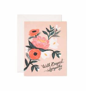 [Rifle Paper Co.] With Deepest Sympathy Card