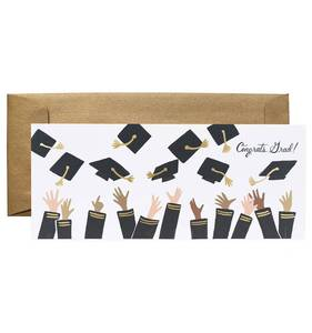 [Rifle Paper Co.] Congrats Grad! No.10 Card