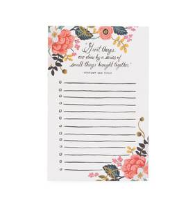 [Rifle Paper Co.] Great Things Notepad