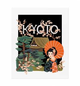 [Rifle Paper Co.] Kyoto 11 x 14""