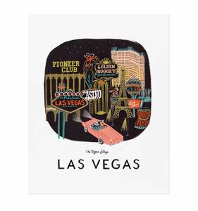 [Rifle Paper Co.] Las Vegas 11 x 14""