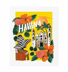 [Rifle Paper Co.] Havana 11 x 14""